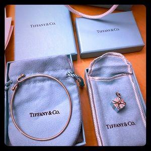 Tiffany Bracelet with birthday box charm